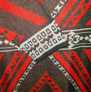 🍓Anthro Aztec knit sweater Dress